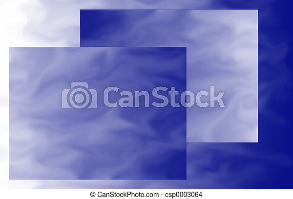 Blue-ish Rectangles - csp0003064