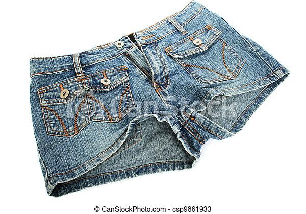 blue-jeans, short - csp9861933