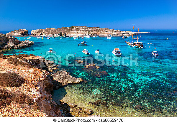 Blue Lagoon At Comino Malta