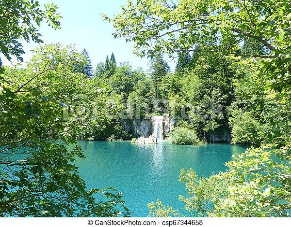 Blue lake - csp67344658