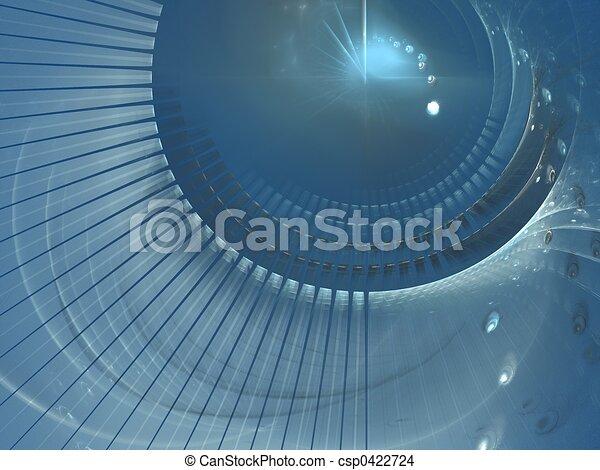 Blue lens - csp0422724