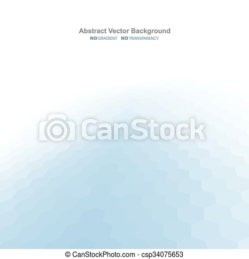 Blue light abstract background. - csp34075653