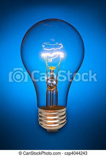 Blue light bulb - csp4044243