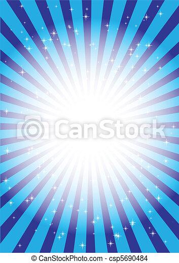 Blue lights  - csp5690484