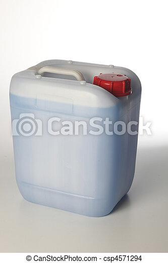 blue liquid - csp4571294