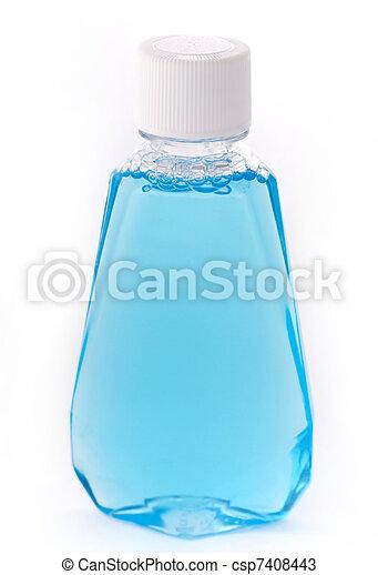 Blue Liquid - csp7408443