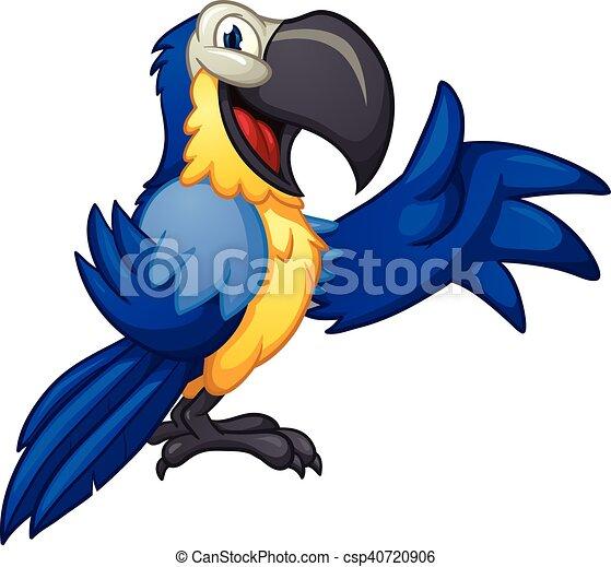 Blue macaw - csp40720906