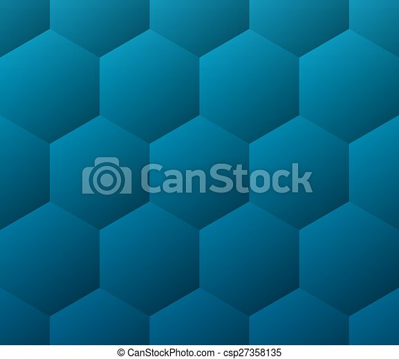 Blue medical abstract geometric background - csp27358135