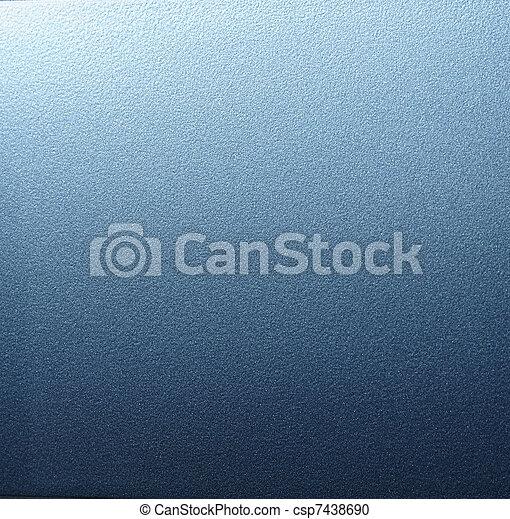 Blue metal. - csp7438690