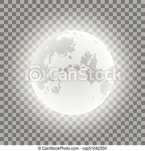 blue moon phases on a transparent background vector