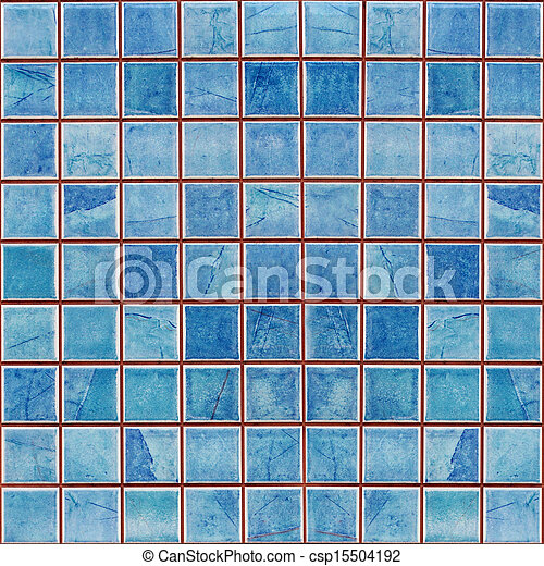 Favorite Blue mosaic decoration tile wall texture background . DD31