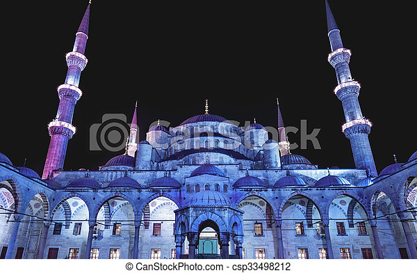 Blue Mosque in Istanbul - csp33498212