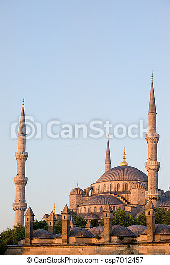 Blue Mosque in Istanbul - csp7012457