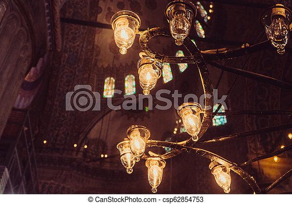 Blue Mosque. Istanbul - csp62854753