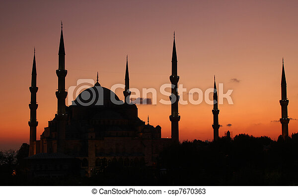 Blue Mosque Istanbul - csp7670363