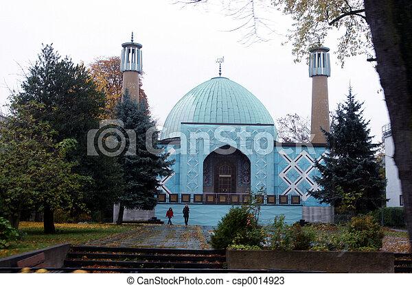 Blue mosque - csp0014923