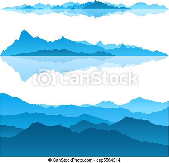 Blue Mountains - csp5564314