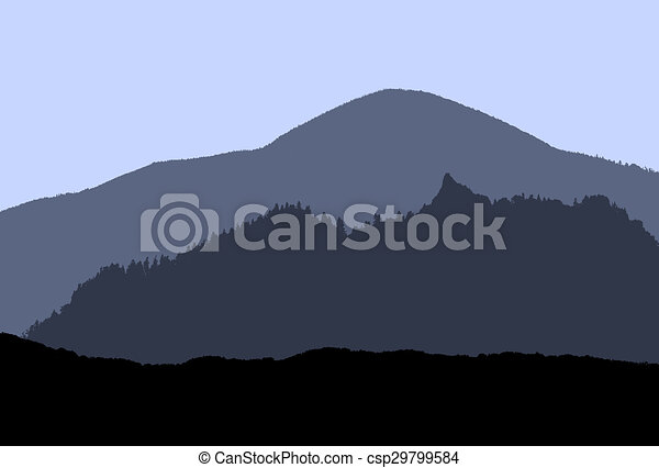 blue mountains - csp29799584
