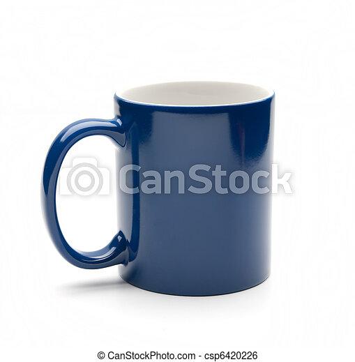 blue mug - csp6420226