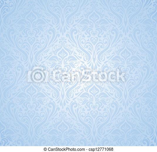 blue New Year's background - csp12771068