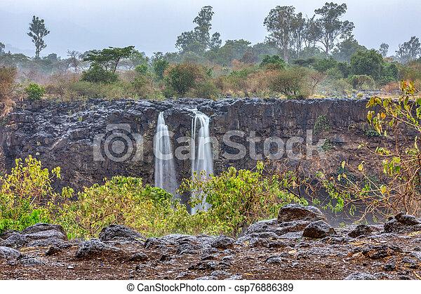 Blue Nile Falls in Bahir Dar, Ethiopia - csp76886389