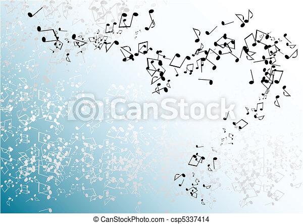 blue notes - csp5337414