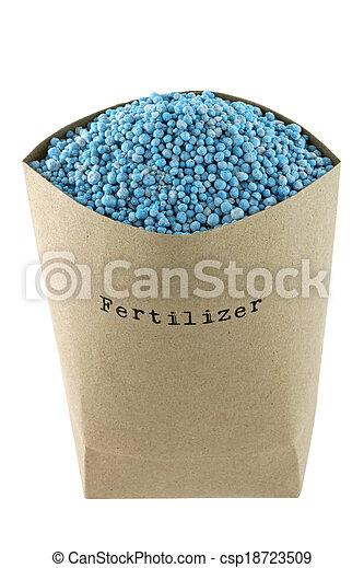 Blue NPK compound Fertilizer - csp18723509