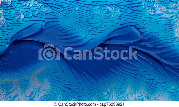 blue paint watercolor seamless water color texture with spots and streaks background - csp76238921