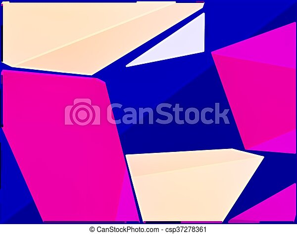 blue pink and brown painting abstract background - csp37278361