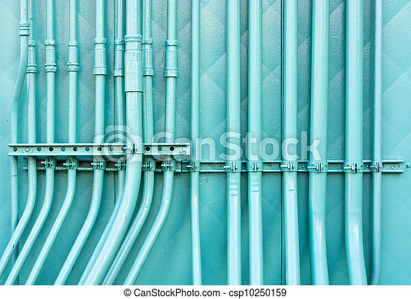 Blue pipes - csp10250159