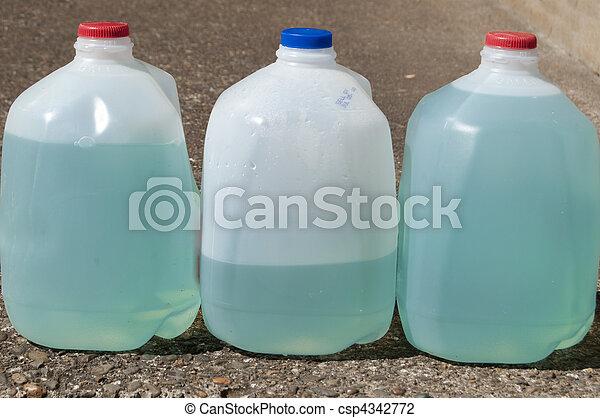 Blue Plant Fertilizer Liquid - csp4342772