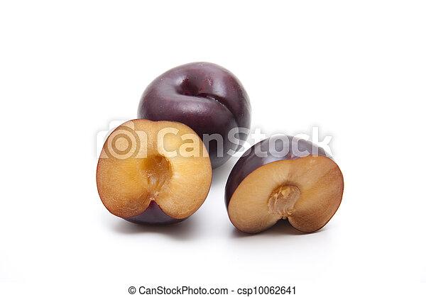 Blue plums - csp10062641