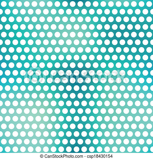 blue points seamless pattern - csp18430154
