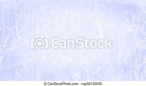 Blue polyethylene backdrop. Blue cellophane packaging - csp56125535