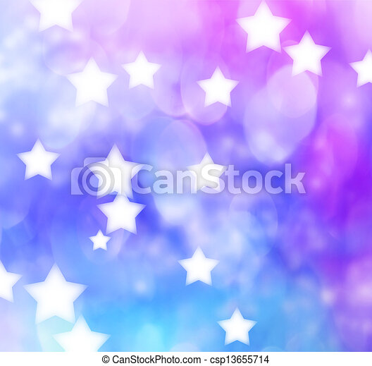 Abstract blue purple star lights background blue purple star lights background csp13655714 voltagebd Gallery