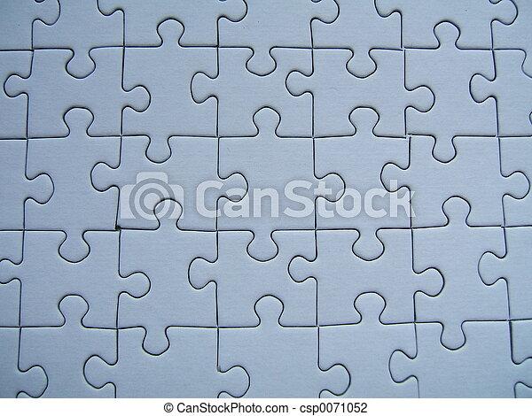 Blue puzzle - csp0071052