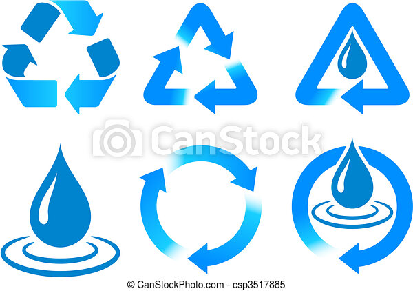 Blue Recycling  - csp3517885