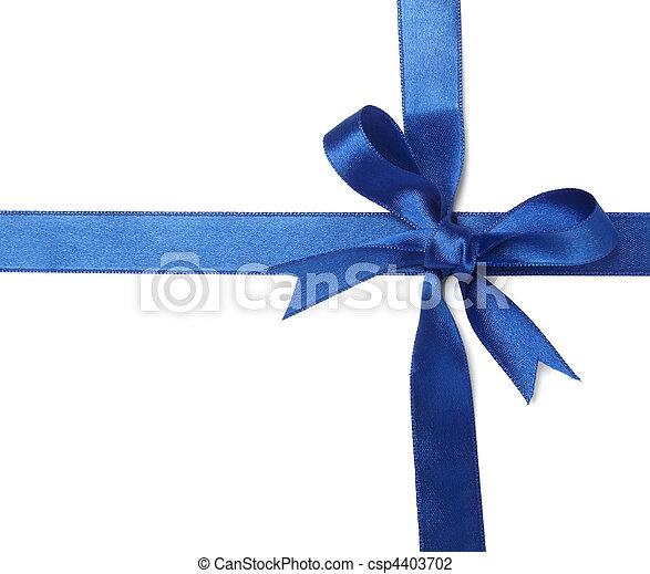 blue ribbon card note  - csp4403702