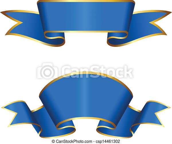 blue ribbon collection blue dirty ribbon collection vector rh canstockphoto com blue ribbon clip art images clipart blue ribbon free