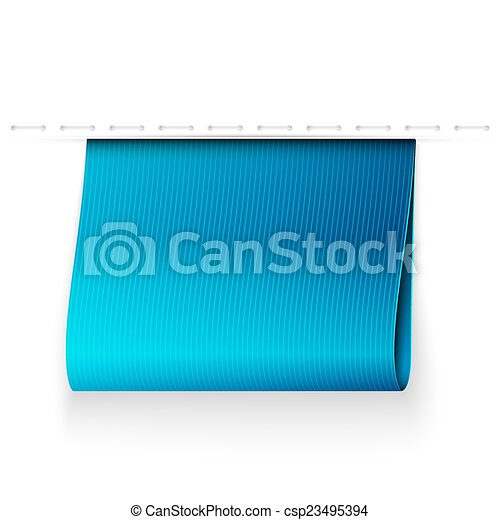 blue ribbon - csp23495394