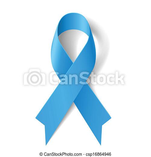 Blue ribbon. - csp16864946