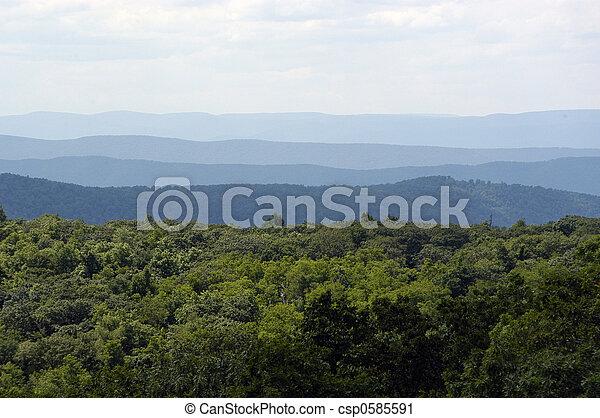 Blue Ridge Mountains - csp0585591