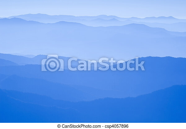 Blue Ridge Mountains - csp4057896