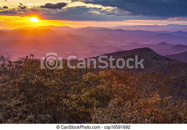 Blue Ridge Mountains - csp16591692