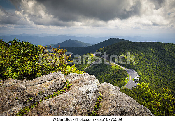 Blue Ridge Parkway Craggy Gardens Scenic Mountains Landscape Photography Near Asheville Nc In The Blue Ridge Mountains Of Western North Carolina