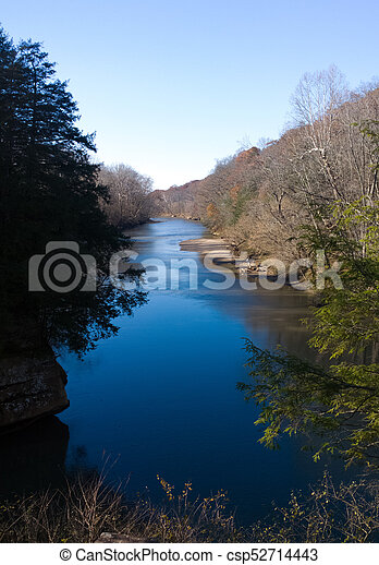 Blue River - csp52714443