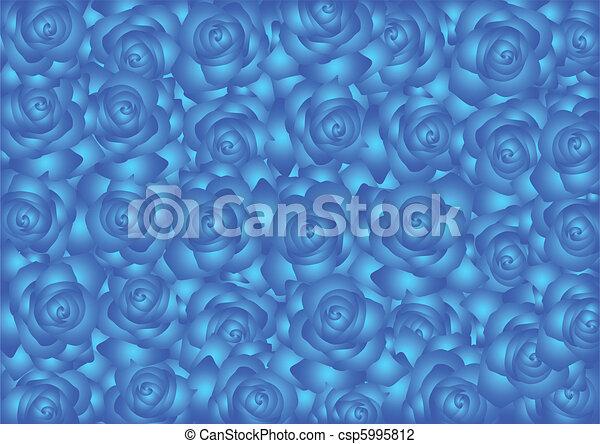 Blue roses - csp5995812