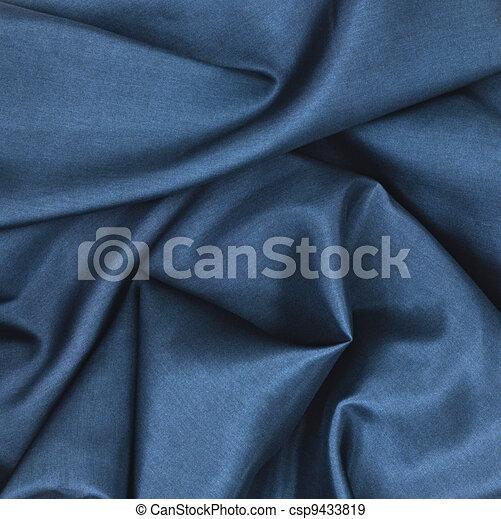 Blue Satin - csp9433819