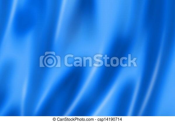 Blue satin texture - csp14190714