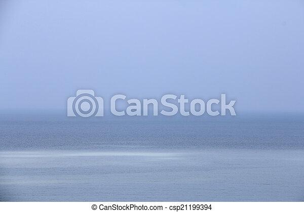 Blue sea - csp21199394